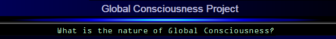 Global Consciousness Project logo/banner